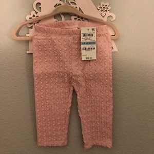 First Impressions-Baby Girl Leggings 3-6 months